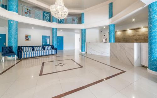 Территория отеля Белый песок Анапа